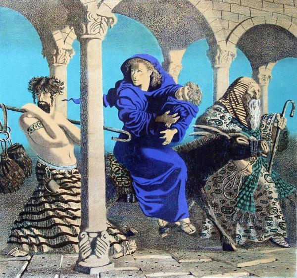 Елизавета Ведина. Бегство в Египет