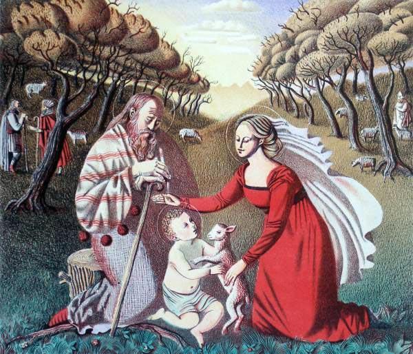 Елизавета Ведина. Святое семейство.