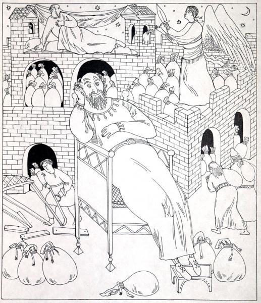 Никольский храм, г березникипритча о богаче и лазаре - никольский