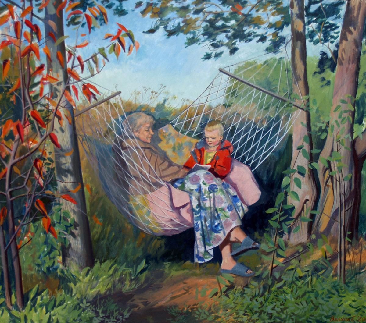 Рассказ старая бабуля на даче с внуком 14 фотография